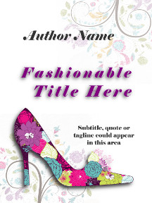 Cover with floral shoe